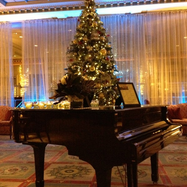 Photo taken at InterContinental New York Barclay by Jorge V. on 12/23/2012
