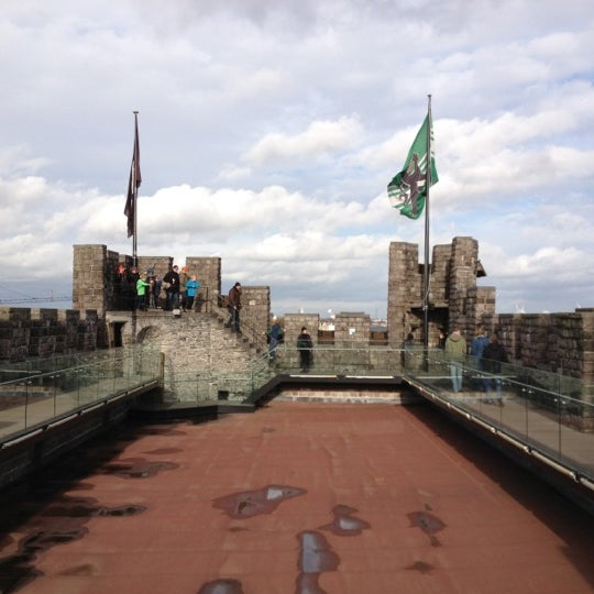 Photo taken at Castle of the Counts by Reginaldo C. on 11/2/2012