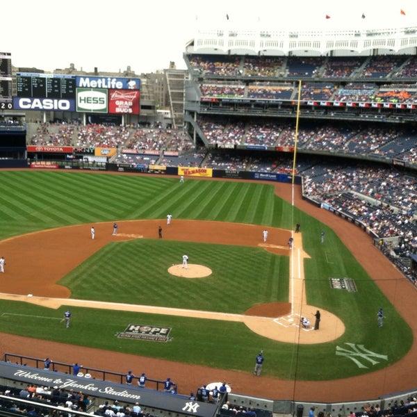 Photo taken at Yankee Stadium by Kyle M. on 7/11/2013