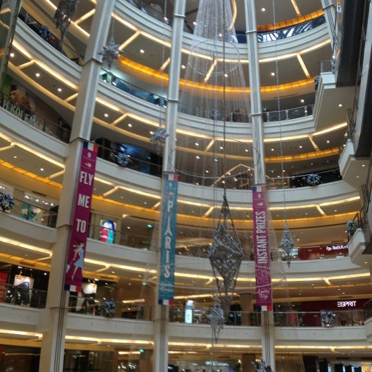 Photo taken at Pacific Place by Poppy H. on 11/19/2012