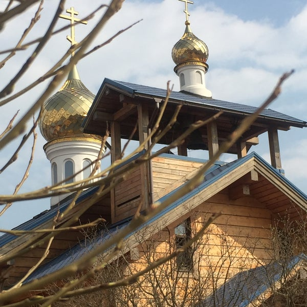 Photo taken at Храм святого Николая Чудотворца by Галина Л. on 4/12/2015