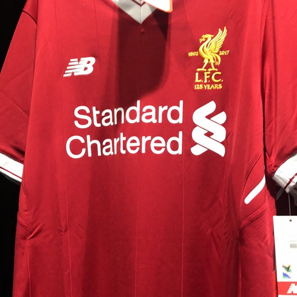 Photo taken at Liverpool FC Official Club Store by Magnús S. on 5/20/2017