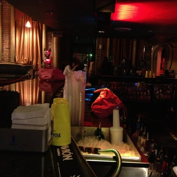 Photo taken at Off The Hookah by Lorena D. on 2/16/2013