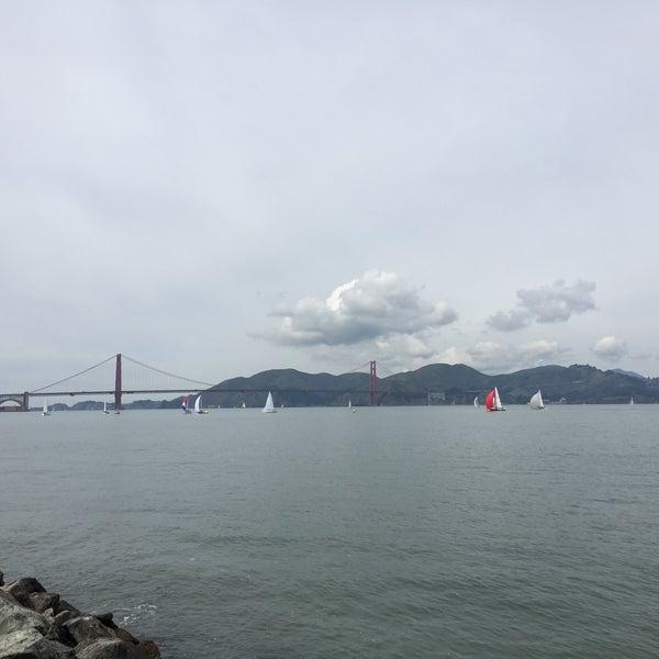Photo taken at Golden Gate Yacht Club by Feras H. on 3/18/2018