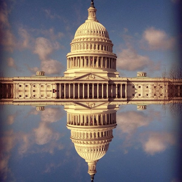 Photo taken at United States Capitol by Byron M. on 2/27/2013