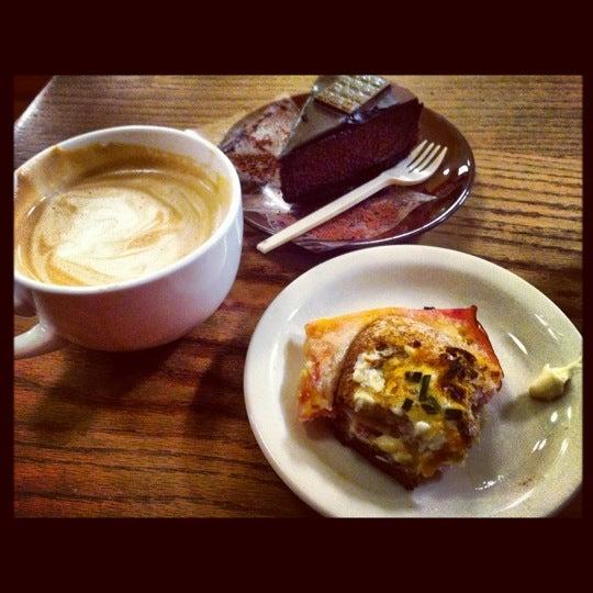Photo taken at Bakery Nouveau by Kari S. on 12/8/2012