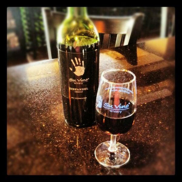 Photo taken at Su Vino Winery by Matt M. on 10/20/2012