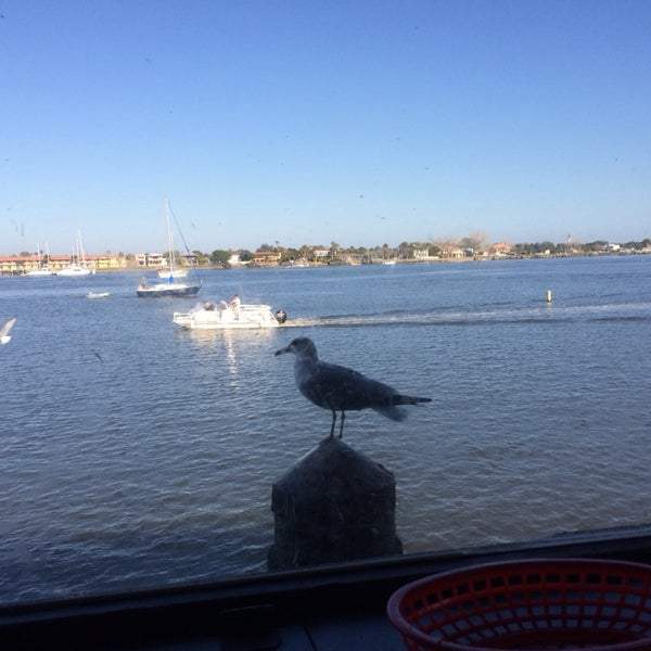 If you don't mind the noise of seagulls, hem sitting by the window is fun...