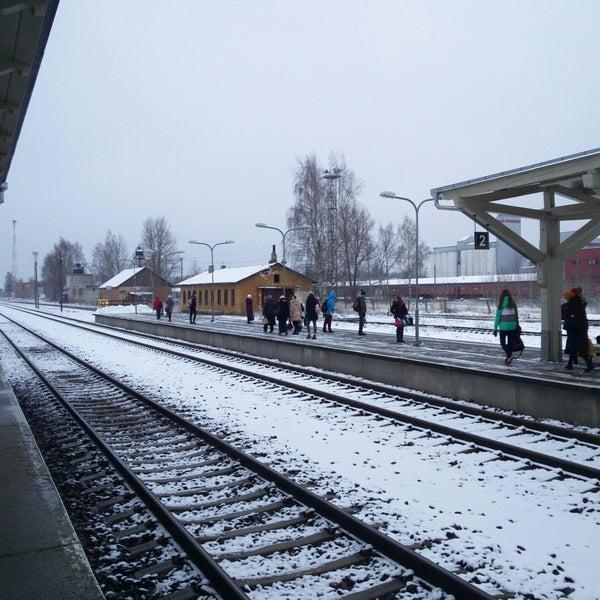 Photo taken at Tartu Raudteejaam by Jüri K. on 11/30/2017