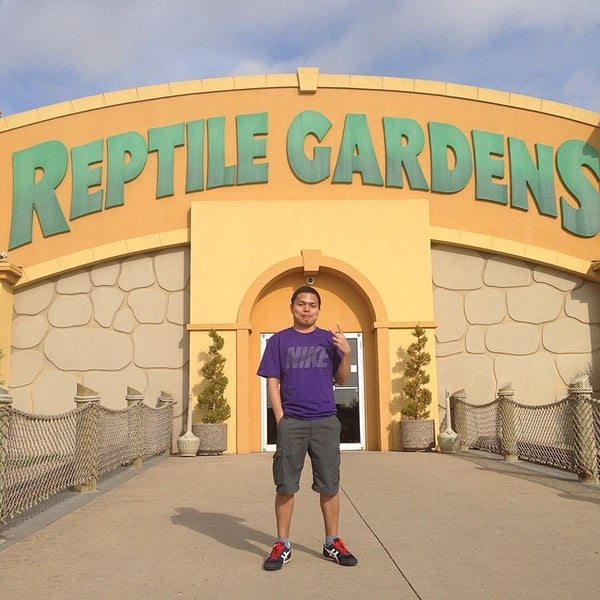 Photo taken at Reptile Gardens by Dindo A. on 5/3/2014