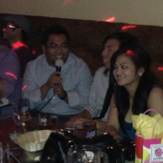 Photo taken at Chorus Karaoke and Cafe by Fiji A. on 11/3/2012