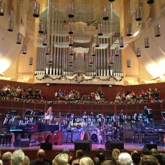 Photo taken at Louise M. Davies Symphony Hall by Mannie R. on 12/1/2012