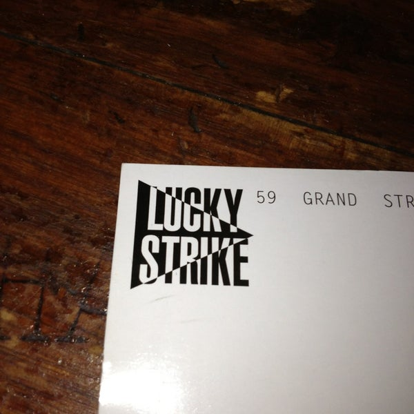 Photo taken at Lucky Strike by Allison E. on 9/2/2013