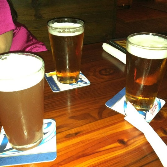 Photo taken at Miller's Ale House - West Boca by Lindsey K. on 11/22/2012
