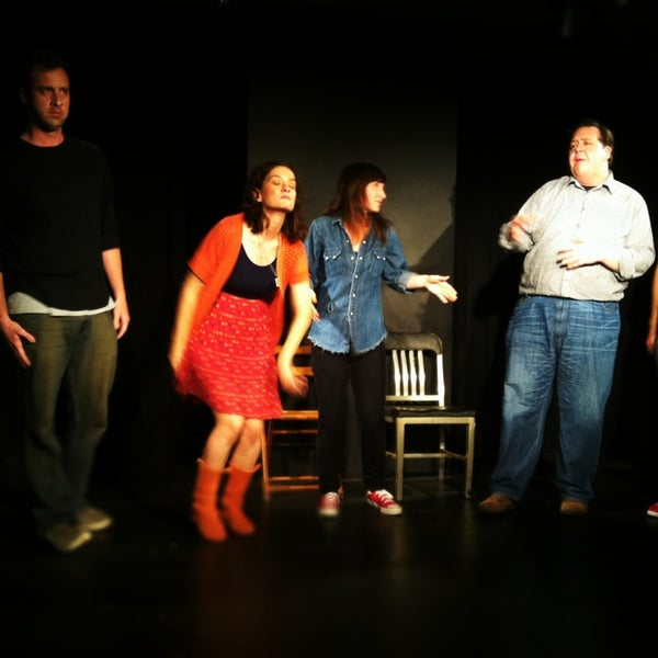 Photo taken at ComedySportz LA by Sarah Z. on 1/27/2013