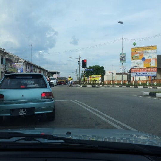 Photo taken at Pekan Merlimau by Laila M. on 12/29/2012
