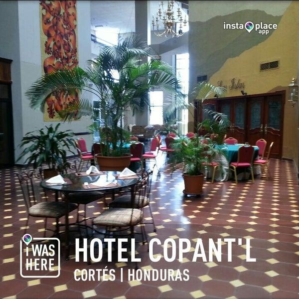 Photo taken at Hotel Copantl by Alejandro C. on 4/26/2013