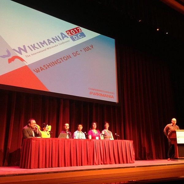Photo taken at Lisner Auditorium by Jeromy-Yu C. on 7/12/2012