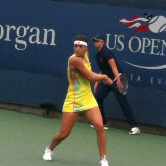 Photo taken at US Open Tennis Championships by Poncho on 8/28/2012