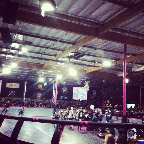 Photo taken at Doll Factory (L.A. Derby Dolls) by Eliza C. on 11/13/2011