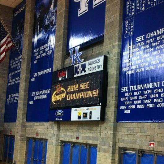 Photo taken at Memorial Coliseum by Amanda F. on 2/27/2012