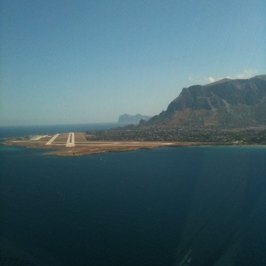Photo taken at Palermo Airport (PMO) by Bj L. on 8/17/2011