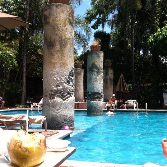 Photo taken at Hotel & SPA Hacienda de Cortés by Mauricio C. on 4/6/2012