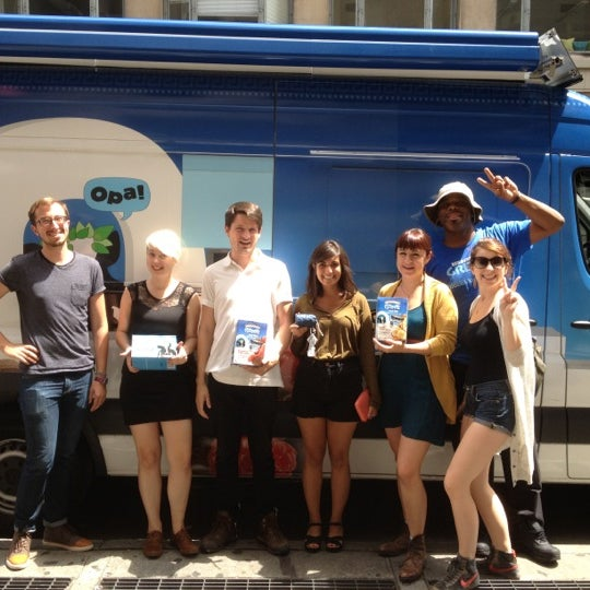 Photo taken at Flavorpill HQ by Ben & Jerry's Truck East on 7/31/2012