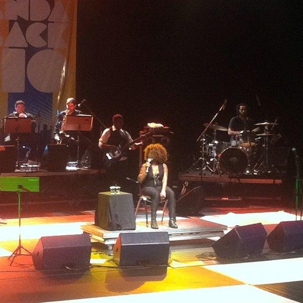 Photo taken at SESC Pinheiros by Rosi R. on 3/10/2012