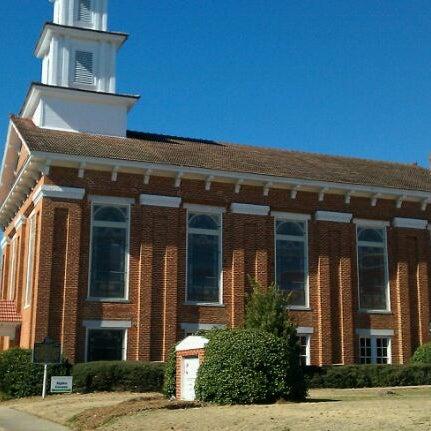 Photo taken at First United Methodist Of Wetumpka by Ryan M. on 1/28/2011