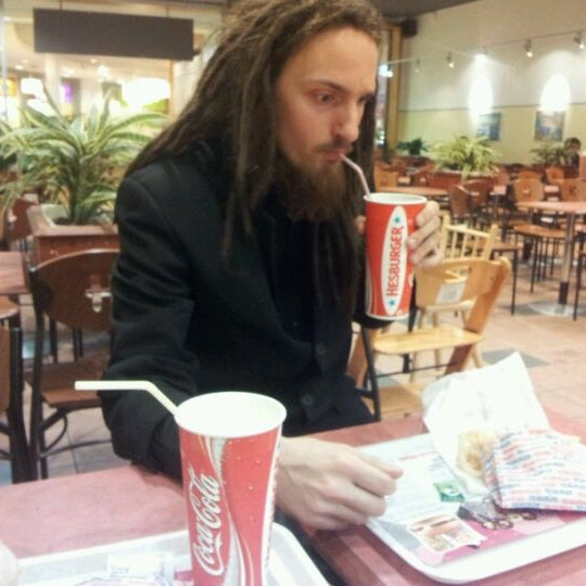 Photo taken at Hesburger by Toms T. on 10/1/2011
