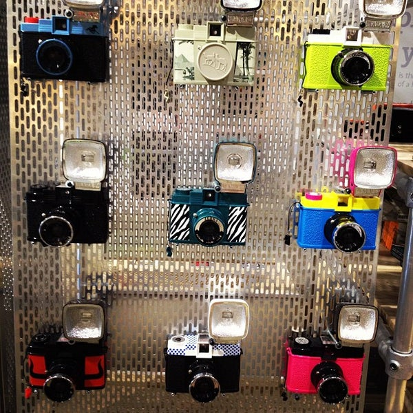 Photo taken at Lomography Gallery Store Austin by Jeremy J. on 4/27/2012