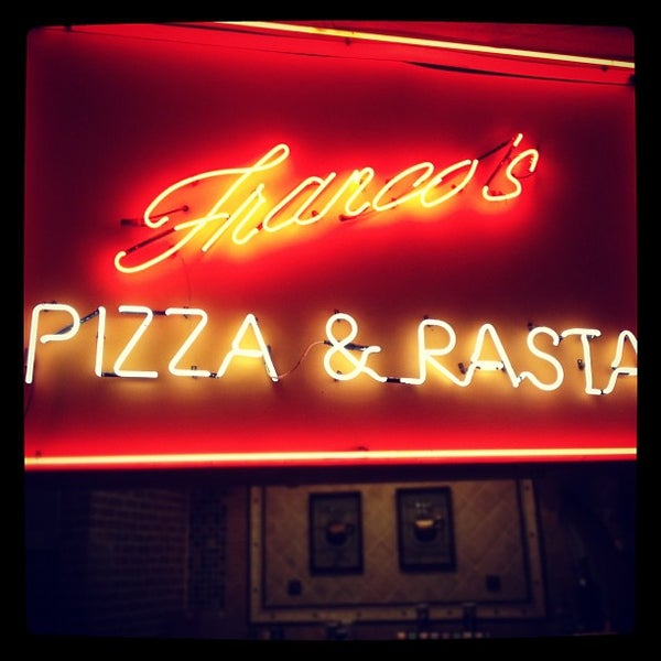 Photo taken at Franco's Pizza & Pasta by Chuck N. on 11/25/2011