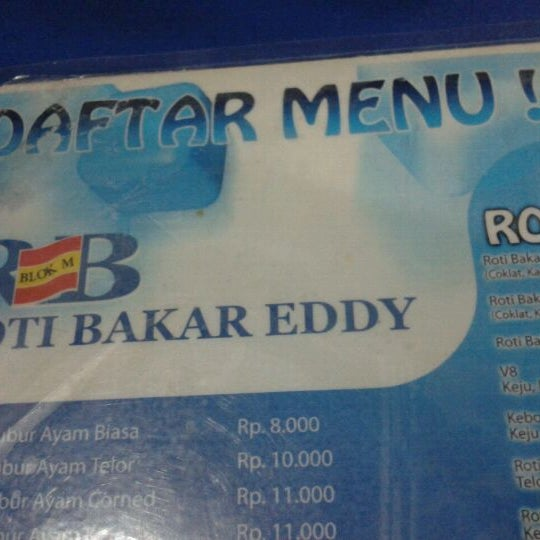 Photo taken at Roti Bakar Eddy by Road C. on 11/18/2011