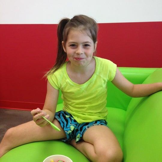 Photo taken at CherryBerry Yogurt Bar by Jamie S. on 7/16/2012