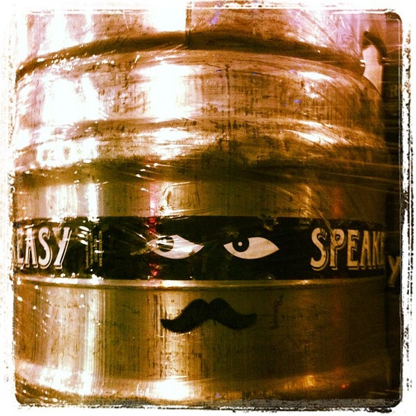 Photo taken at Speakeasy Ales & Lagers by Kristine M. on 1/29/2012