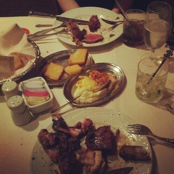 Photo taken at Fogo de Chao Brazilian Steakhouse by Fred L. on 6/23/2012