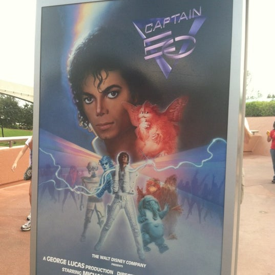 Photo taken at Captain EO by Sarah on 11/21/2011