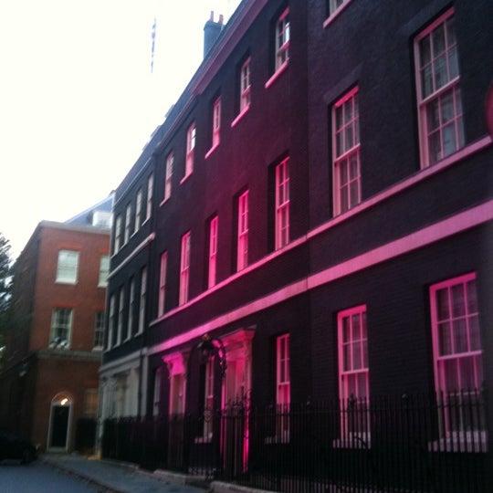 Photo taken at 10 Downing Street by Nick J. on 10/25/2011
