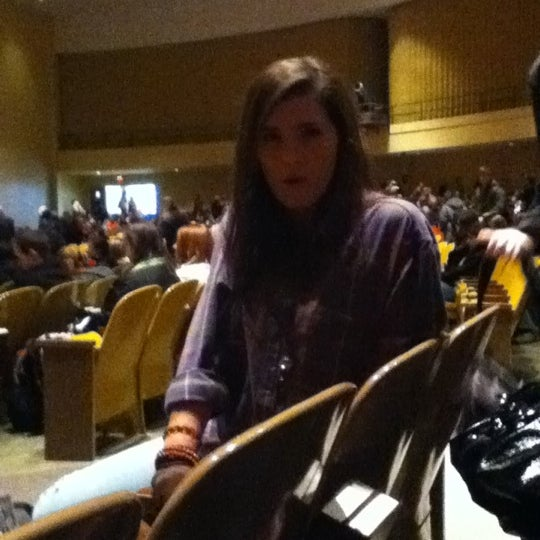 Photo taken at FHU Loyd Auditorium by Austin P. on 2/3/2011
