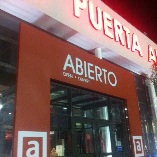 Photo taken at Abades Puerta de Andalucía by santi d. on 1/8/2012