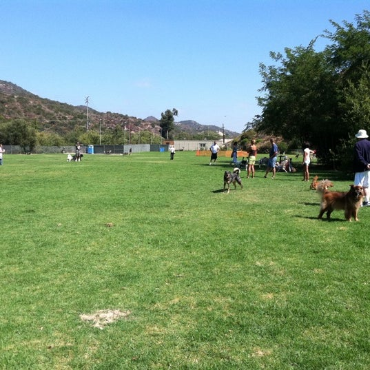 Photo taken at Laguna Canyon Dog Park by Al B. on 8/21/2011
