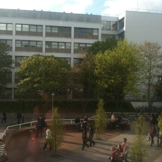 Photo taken at University of Warwick Library by Mohsen A. on 4/30/2012