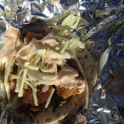 Pork belly confit taco!  So GOOD!
