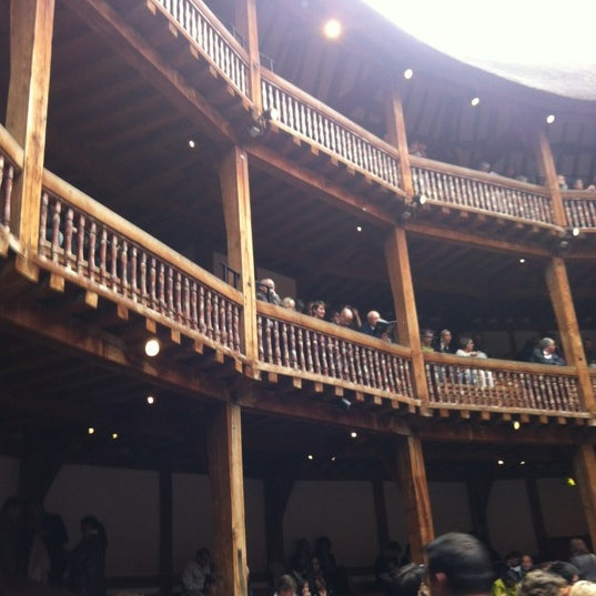 Photo taken at Shakespeare's Globe Theatre by Melissa M. on 7/13/2012
