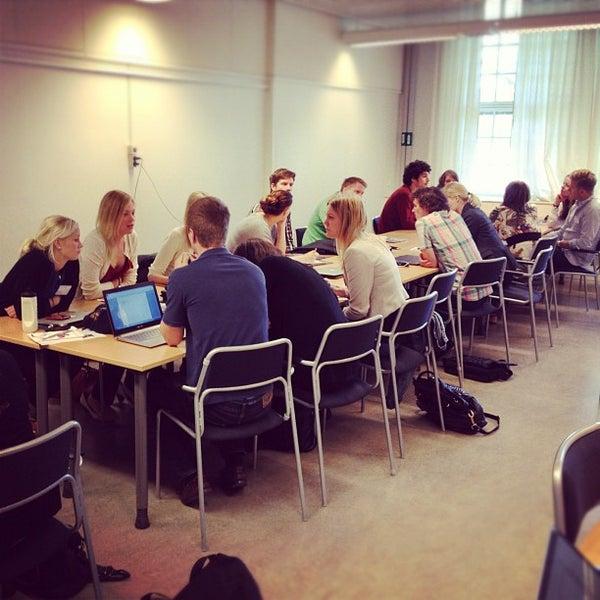 Снимок сделан в Ångströmlaboratoriet пользователем Martin P. 6/13/2012