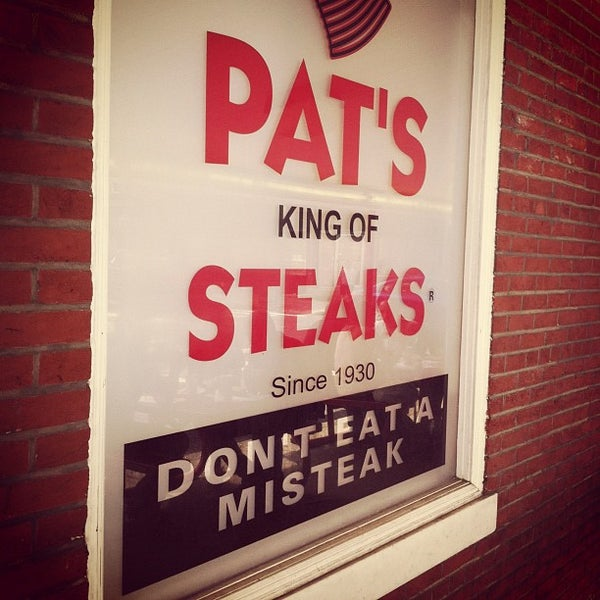 Photo taken at Pat's King of Steaks by Kevin B. on 7/21/2012