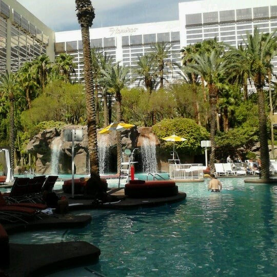 Photo taken at Flamingo GO Pool by Andrew R. on 7/29/2012