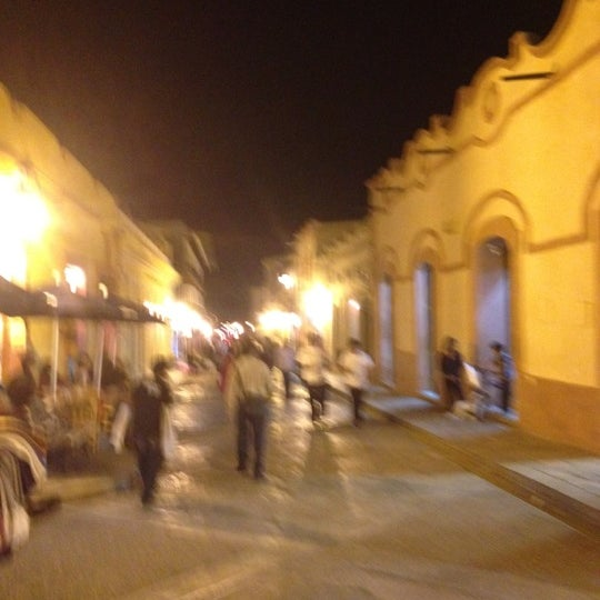 Photo taken at Andador Real de Guadalupe by Mike L. on 5/24/2012