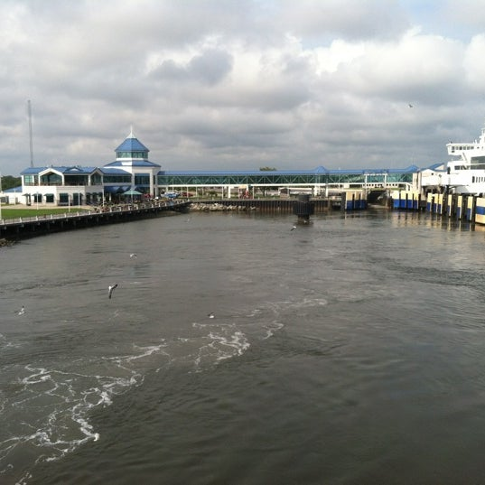 Photo taken at Cape May-Lewes Ferry | Cape May Terminal by Curt W. on 8/14/2012